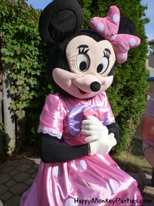 Minnie Mouse Mascot & Minnie Mouse Mascot - Happy Monkey Parties